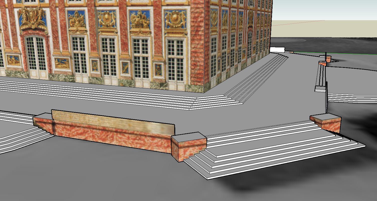 reconstitution du pavillon en 3d. Black Bedroom Furniture Sets. Home Design Ideas